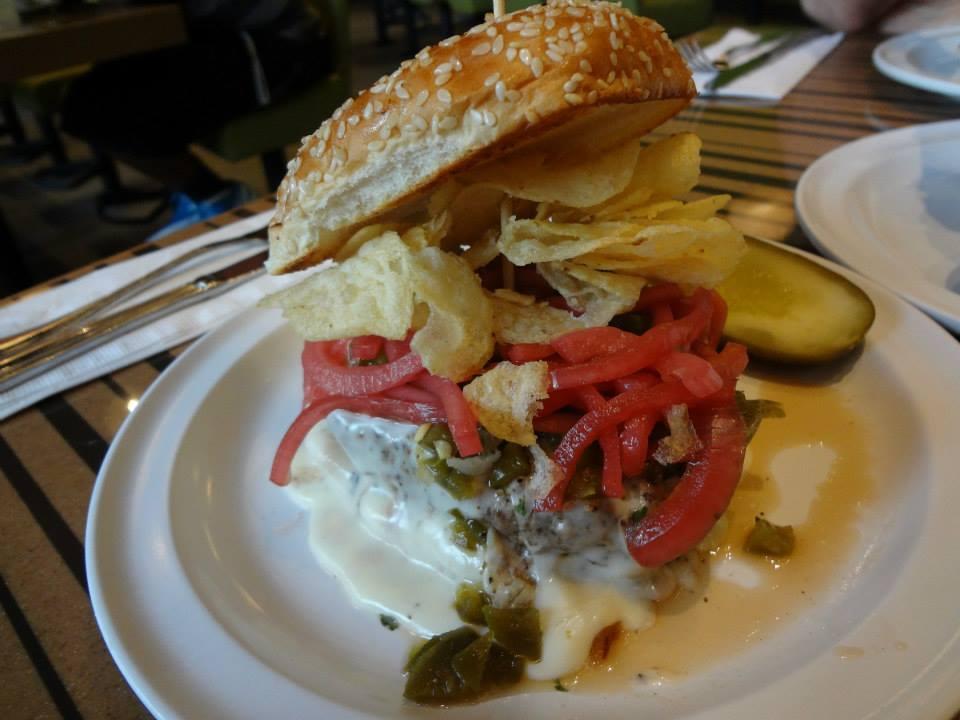 New Mexico Burgers Recipe — Dishmaps